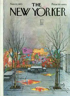 November 12th, 1973, at The New Yorker - Shelley Davies