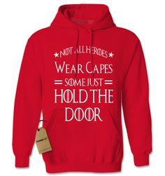 Hold The Door Hodor GoT Adult Hoodie Sweatshirt