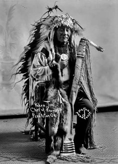 Poker Jim,  Cayuse tribe Chief of Roundup 1910
