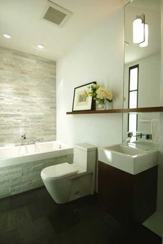 California Cool in the Castro - Bathroom - www.markbrandarchitecture.com  -  Interior Design - Home Decor - #design #decor #interiordesign