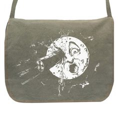 A Trip To The Moon Messenger #bag