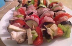 Régime Dukan (recette minceur) : Brochettes de Poulets/ Légumes #dukan…