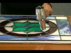 Building a Leaded Stained Glass Window with #NoDays Glaze - Quick Cure Method