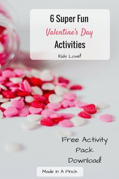 These 6 activities have proven time and time again that they are winners!  Kids of all elementary ages love them, and it makes planning a party or doing fun holiday activities a breeze! #valentinesday #valentines #valentinesdayfun #kidsvalentinesactivities #valentinesdayactivities