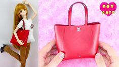 PURSE /& BOTTLED WATER BARBIE DOLL GENERATION RED SHOULDER  HANDBAG BAG ACCESSORY