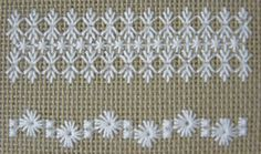 Hapsburg Lace Sampler - WIP | by stitch-play
