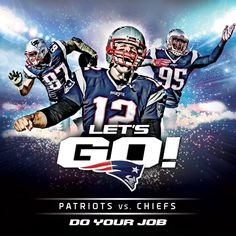 Patriots vs. Chiefs, this Saturday, 4:35 PM EST #Let'sGo #KCvsNE #Patriots