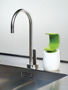 Joseph Joseph JJ85053 C-pump Seifensp. weiss/grün: Amazon.de: Küche & Haushalt