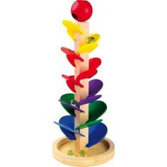 Buy our Marble Run - with Sounds from our Wooden Children's Games range online now at Mulberry Bush. Suitable for children aged Free Delivery on orders over Glass Marbles, Bambi, Wooden Marble Run, Marble Runs, Mulberry Bush, Wooden Tree, Waldorf Toys, Montessori Toys, Colors