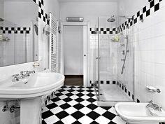 estilo clásico en el baño moderno