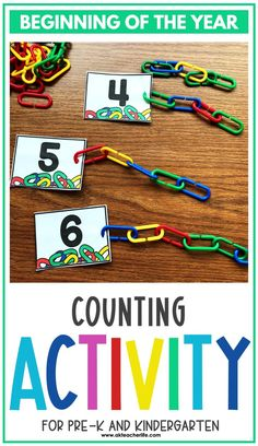 Counting math centers for beginning of the year for kindergarteners. Using hands-on activities, students will practice counting and identifying numbers 1 to 10 using ten frames, their fingers, drawing pictures, and partner activities. Discover new ways to teach these concepts and download a freebie too! Kindergarten First Week, Kindergarten Special Education, Number Sense Kindergarten, Number Sense Activities, Counting Activities, Kindergarten Worksheets, Hands On Activities, Student Learning, Pictures To Draw