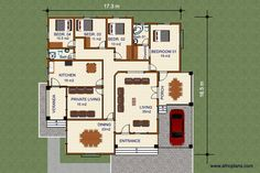 114E - Africplans Electrical Installation, Septic Tank, Roof Plan, Cool Suits, House Plans, Africa, How To Plan, Bob, French