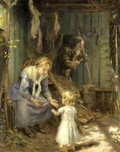 "Fritz von Uhde. ""The Holy Family in the Workshop"". (Después de 1892) Valeria Espinosa"