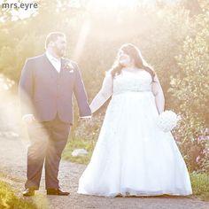 LollyLikesFATshion: 105 Plus/Fat Bride/Groom - Meet Lauren & Dan