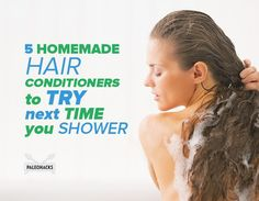 These homemade recipes rejuvenate your hair without stripping it of natural oils or overloading it with chemicals.