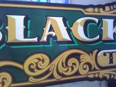Hand Painted Lettering Signs Traditionally hand painted