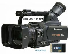 Video Cameras are available for Rent - reonse.com