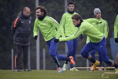 Champions, allenamento della Juventus prima della partenza per Malmo