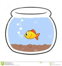 Fishbowl Clipart Goldfish Fish Bowl Clip Art Royalty Free Stock Photo Image 2741595 Designer Clipart