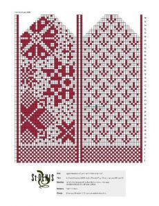 Crochet Abbreviations in US, UK, Danish and German. Knitting Charts, Loom Knitting, Knitting Socks, Knitting Patterns, Knitted Mittens Pattern, Knit Mittens, Knitted Gloves, Wedding Cross Stitch Patterns, Crochet Abbreviations