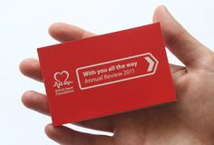 NB Studio's tiny annual review for BHF