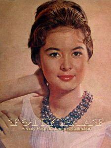 Josephine Estrada    Miss Philippine Universe 1962