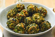 Forget mini meatballs—your guests won't be able to stop talking about these spinach ball appetizers. You'll want to make them for every event!