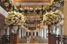 37cc0e8f83b Flowers and Decor  Events In Bloom Planning  Sydney Mafrige of Keely Thorne  Events Photography  J. Cogliandro Photography - at The Corinthian