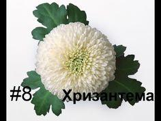 Хризантема из фоамирана Флористика Ошибки ручной работы МыловароФФ - YouTube
