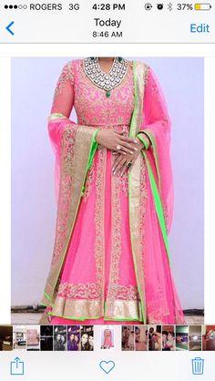 Dedicated to the marvelous world of South Indian Cinema India Fashion, Ethnic Fashion, Asian Fashion, Pink Fashion, Pakistani Dresses, Indian Dresses, Indian Outfits, Indian Bridal Wear, Indian Wear