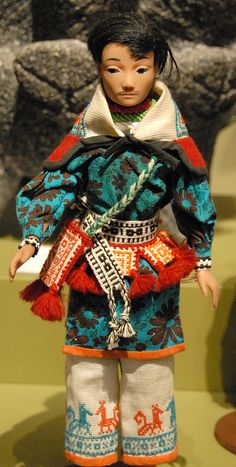 Huichol Doll Mexico by Teyacapan, via Flickr