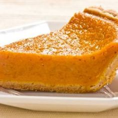 Sweet Potato Pie; I have my own recipe, picture is nice.