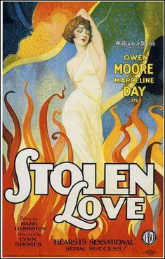 Poster for the film STOLEN LOVE (1928)