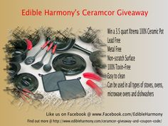 Xtrema by Ceramcor product review, coupon code and giveaway. - Edible Harmony