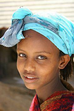 Eritrea girl smile