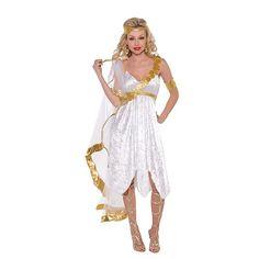 Dress up as Aphrodite - the Goddess of Love! #Aphrodite #costume #womens #Halloween