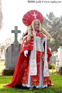 Caterina from Trinity Blood  (Beautfiul plus sized cosplayer ftw!)
