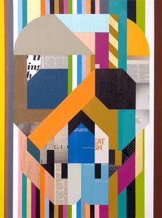 Clark Goolsby, Skull I Crane, Visual Diary, Graphic Design Typography, Skull Art, Collage Art, Illustrations Posters, Design Art, Pop Art, Street Art