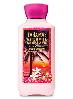 Body Lotions and Moisturizers Signature Collection – Pink Passionfruit Banana Flower Super Smooth Body Lotion by Bath & Body Works Bath Body Works, Bath N Body, Bath And Body Works Perfume, Banana Flower, Bahamas, Bath And Bodyworks, Body Lotions, Smell Good, Signature Collection