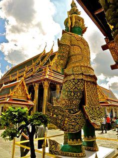 Bangkok, Thailand - Royal Grand Palace and Wat Phra Kaew