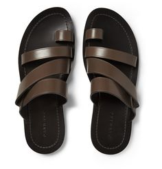 Dan Ward - Multi-Strap Leather Sandals | MR PORTER
