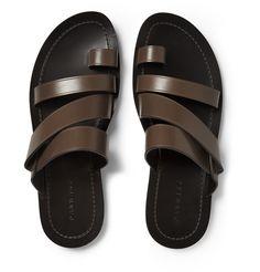 Dan Ward - Multi-Strap Leather Sandals|MR PORTER