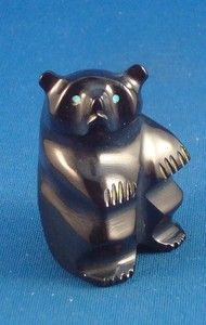 Zuni hand carved Bear Fetish By Calvert Bowannie. $59.99 with Free Shipping. Just Click on the above picture to be taken to the Ebay listing.