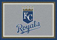 MLB Kansas City Royals Mats - Kansas City Royals Spirit MLB Baseball Logo Area Rug. $69.99 Only.