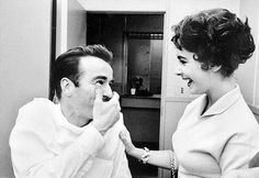 Montgomery Clift and Elizabeth Taylor laughing it up ❤ #elizabethtaylor #montgomeryclift #classicfilm #classiccinema #goldenagehollywood #goldenagefilm #vintagecinema #classiccinema #vintagemovie #classichollywood