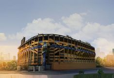 Boca Juniors - La Bombonera Football Stadiums, Football Soccer, Ronaldo, Playground, Travel, Temples, Football, Soccer Players, Buenos Aires