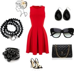 """Classic Glamour"" by courtlove on Polyvore"