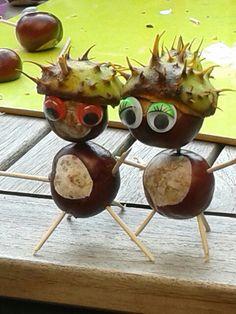Leuke herfstpoppetjes maken met oogjes!