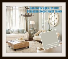 Ballard Designs Favorite Paint Colors:  Winterwood by Benjamin Moore