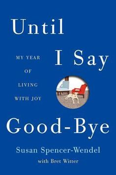 """Until I Say Good-Bye: My Year of Living with Joy"" by Susan Spencer-Wendel ... will make you very sad at times, but you will love this story, love this book.  ""...events rarely happen as anticipated... none of those things turned out just as planned...but were perfect memories...because I did not have expectations. I guess that's a lesson, if there must be one. Accept the life that comes. Work and strive, but accept. Don't force the world to be the one you dream. The reality is better.""  Enjoy"